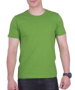 تیشرت سبز حنایی