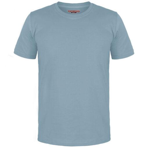 تیشرت مردانه آبی طوسی